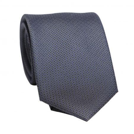 Cravata matase L. Biagiotti Sorrento aqua navy