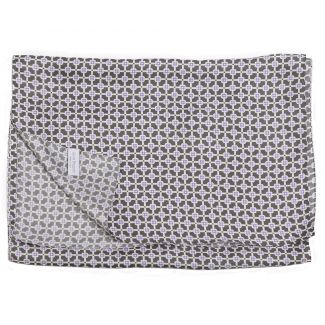 L. Biagiotti silk tie Grey Square
