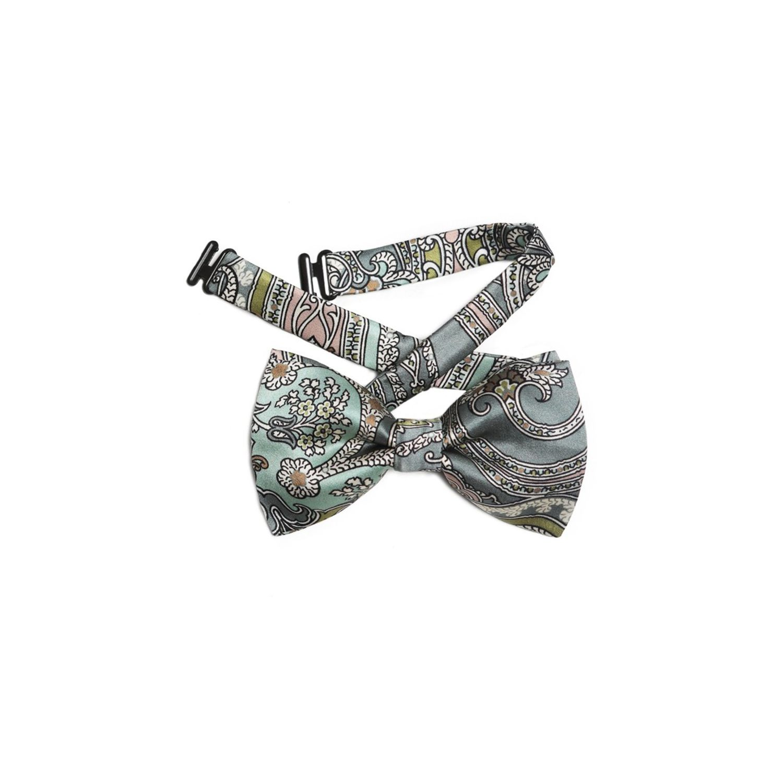 My Privilege Olive Silk Bow Tie