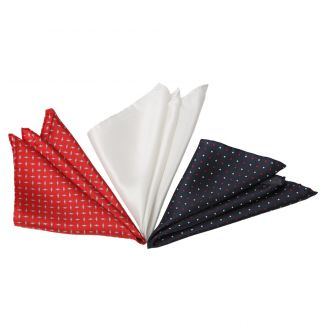 Gift: Men's Party silk handkerchiefs