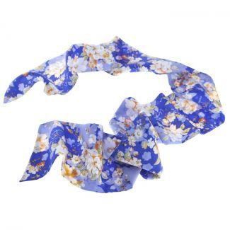 Eşarfă Ungaro albastru cobalt