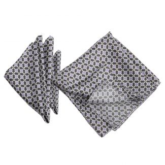 Gift: L. Biagiotti silk scarf and pocket square Italian Touch