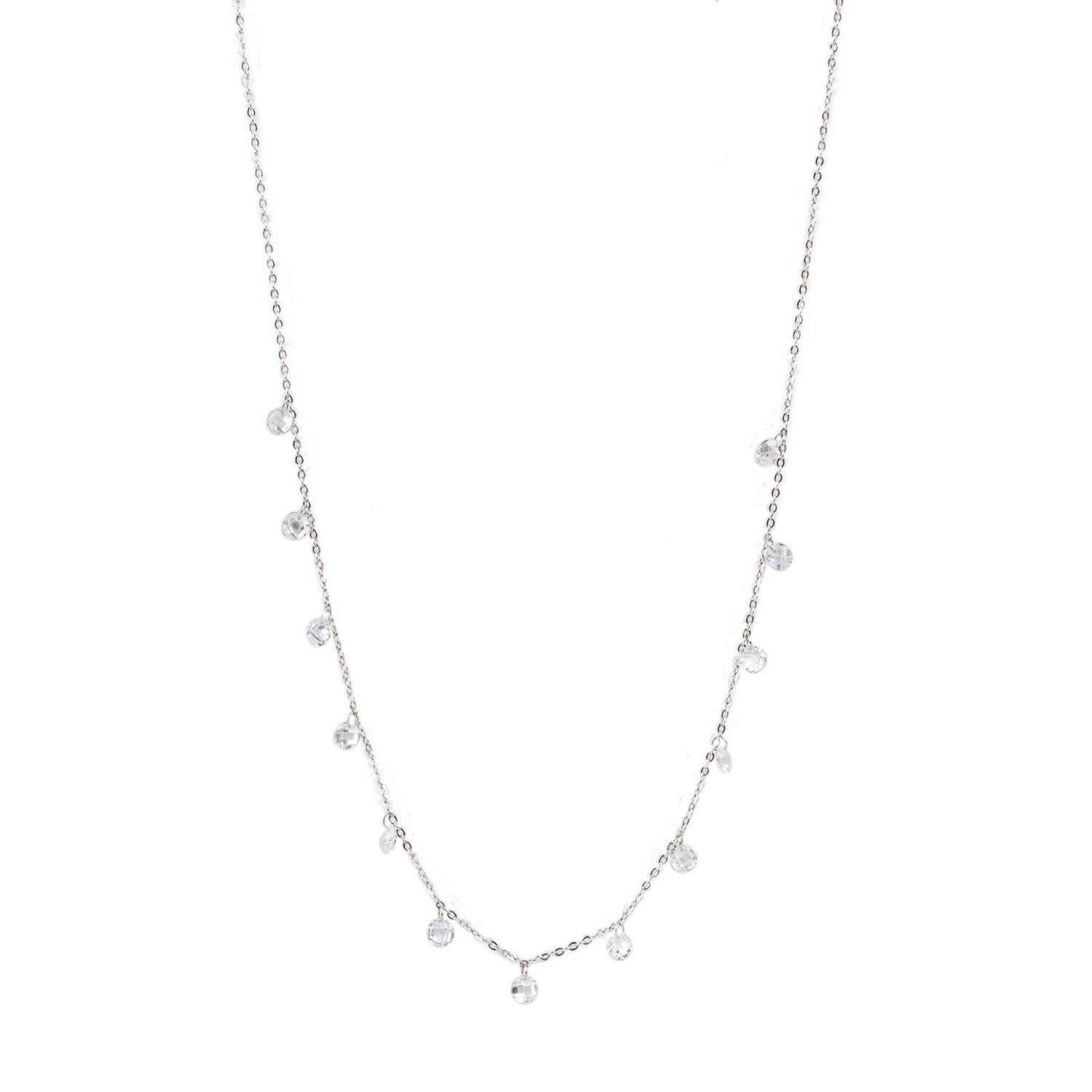 Silver necklace My Little Stars