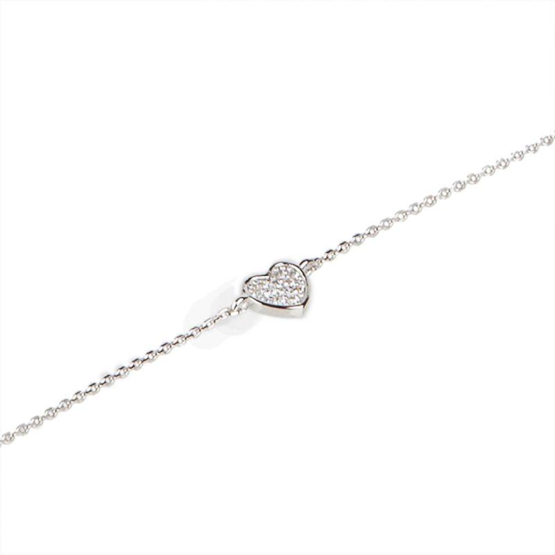 Zirconia Feelings silver bracelet