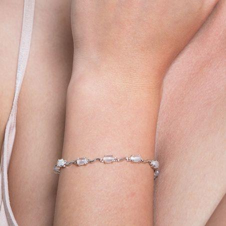 Moon Stone High Quality silver bracelet