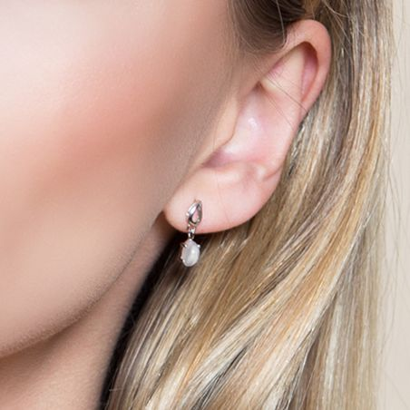 Moon Stone High Quality silver earrings