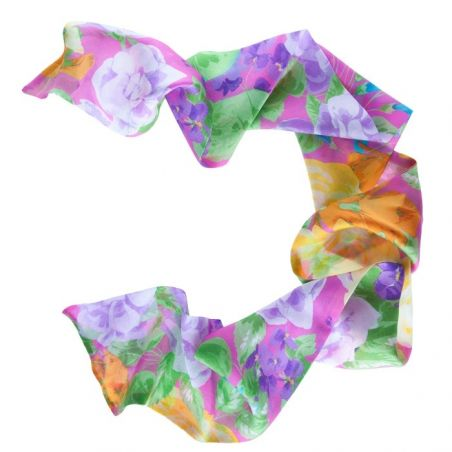Sakura Garden Ungaro silk scarf