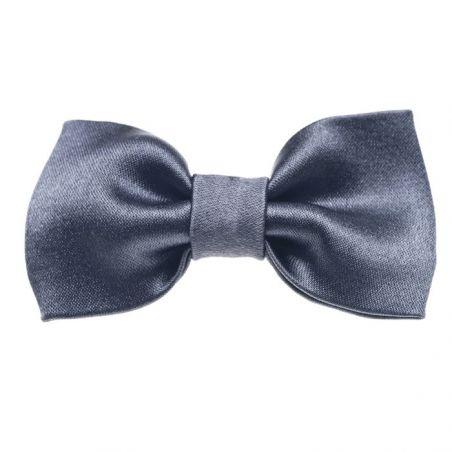 Gray bow clip