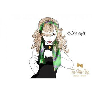 Eşarfă Midnight Roses
