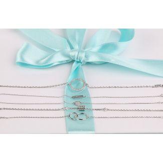 Gift: My way Silver Bracelets