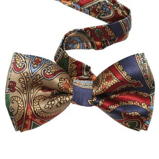 My Privilege Silk Bow Tie