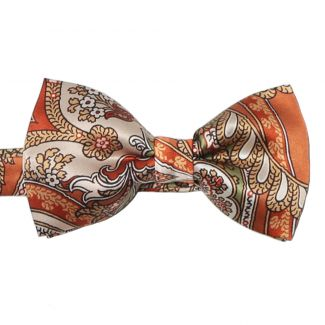 My Privilege Ginger Silk Bow Tie