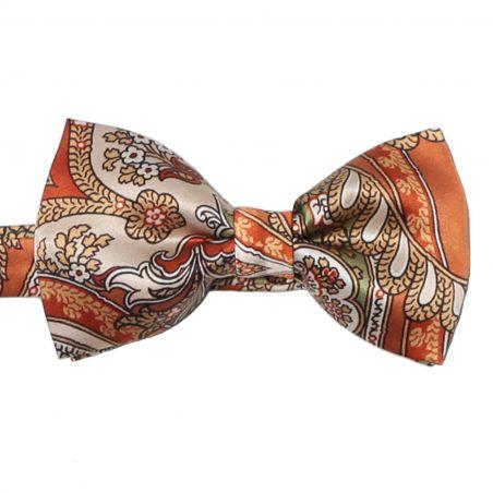 My Privilege Ginger Silk Bow Tie