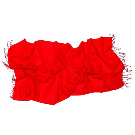 Wool Scarf Mila Schon red