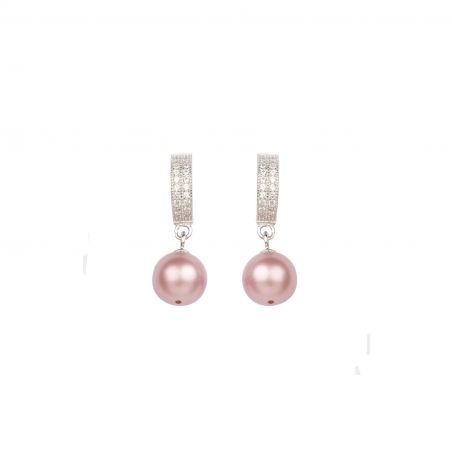 Swarovski Lovely Pearls silver earrings