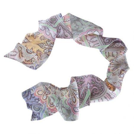 Eşarfă mătase naturală Sundance Paisley