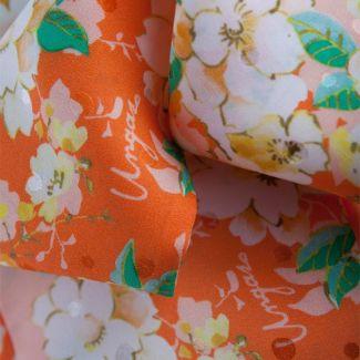 Eşarfa Ungaro flori piersică