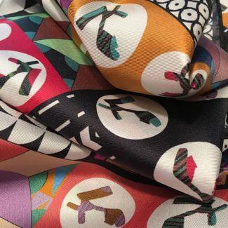 RR Sandali silk scarf