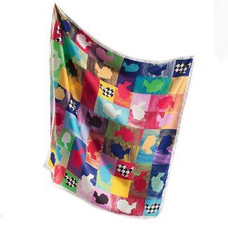 RR Profiles silk scarf