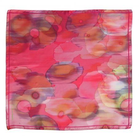 Into The Light rose silk scarf