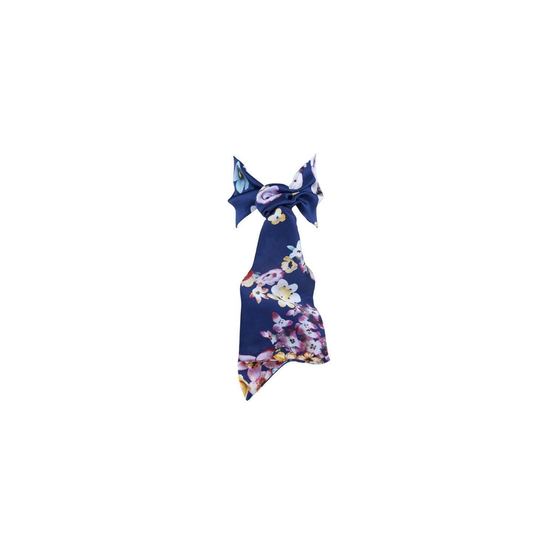 Eşarfă cu volan blumarin buchet