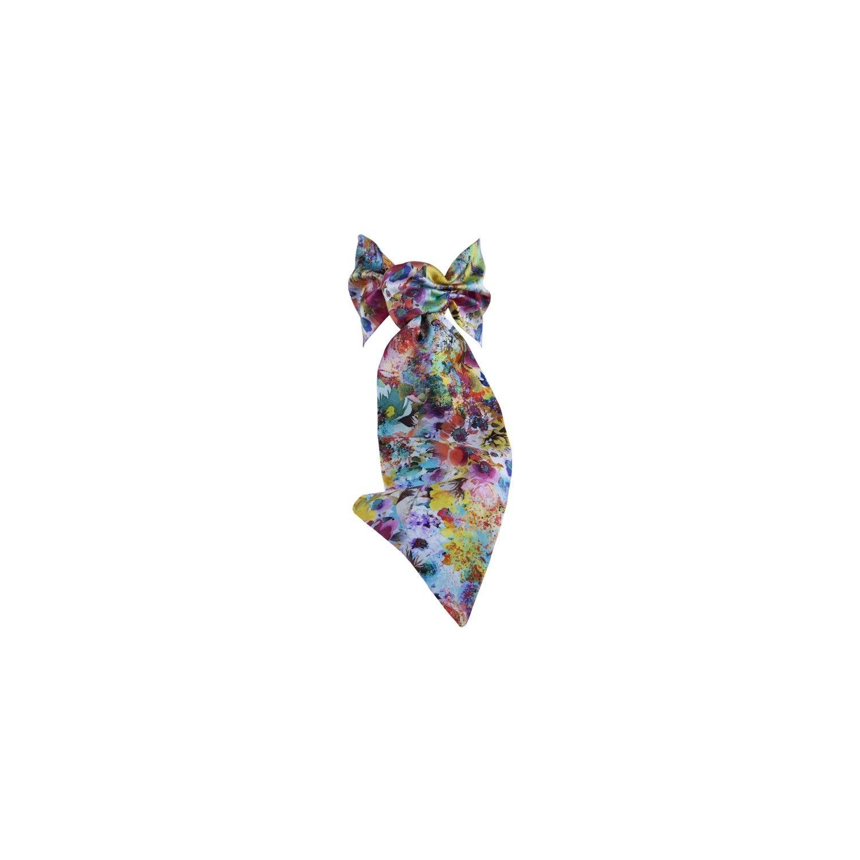 Eşarfă cu volan Fleur de Provence