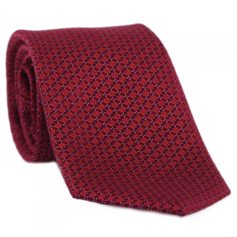 Cravata L. Biagiotti Prato terra red