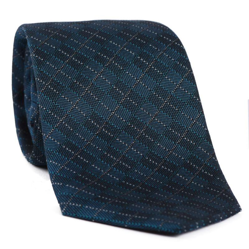 L. Biagiotti silk tie Vittorio dark green
