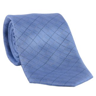 L. Biagiotti silk tie Belluno light blue