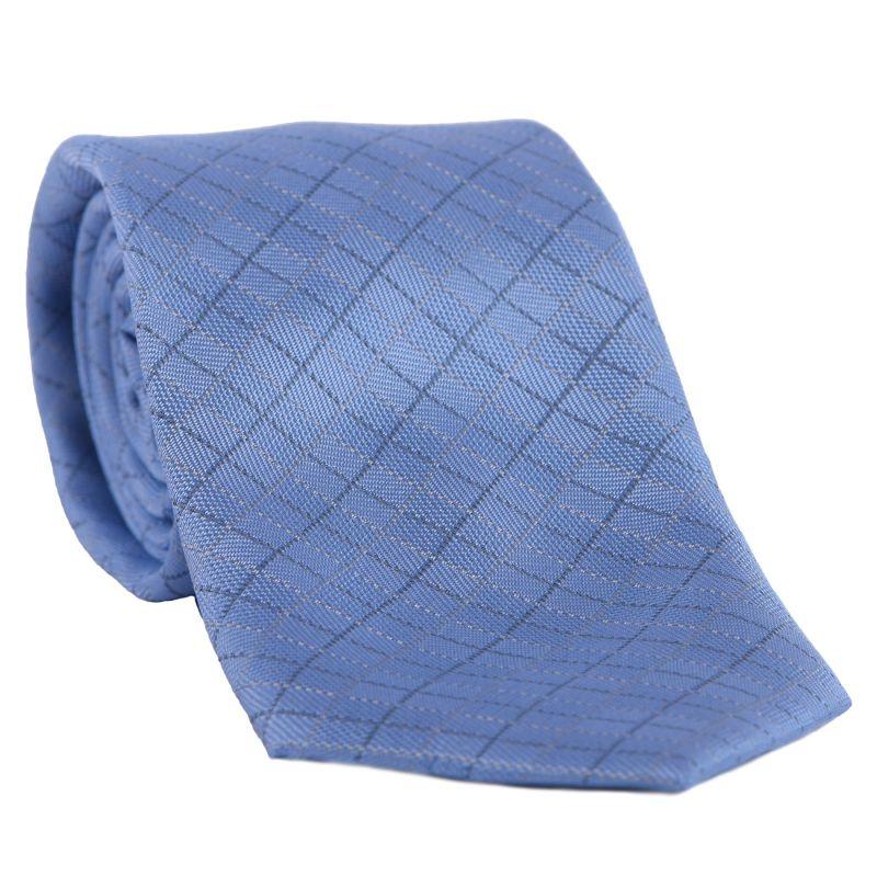 L. Biagiotti silk tie Belluno light blue