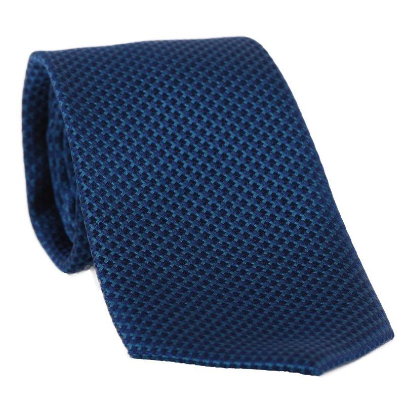 Cravata L. Biagiotti Turin petrol blue