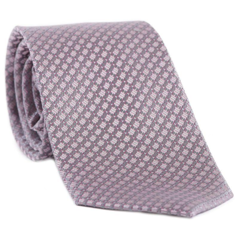 L. Biagiotti silk tie Prato grey