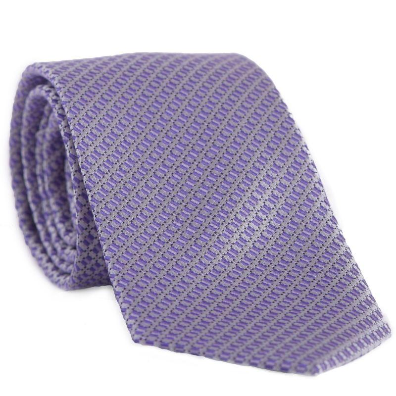 Cravata L. Biagiotti Prato mauve