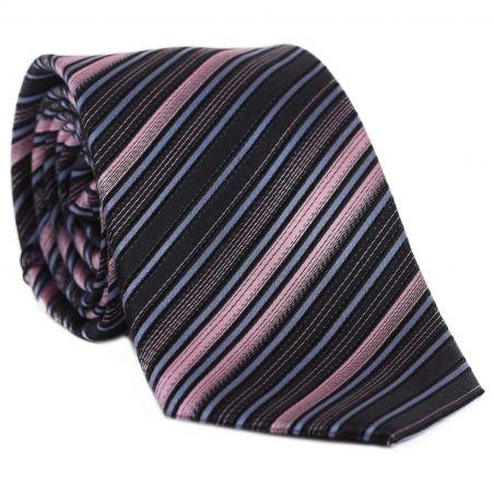 Cravata L. Biagiotti Mantova Spectrum Pink stripes