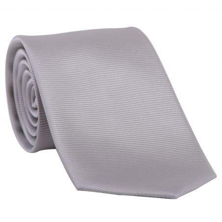 L. Biagiotti silk tie Best Classic light grey