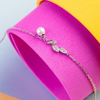 Zirconia My Way silver bracelet