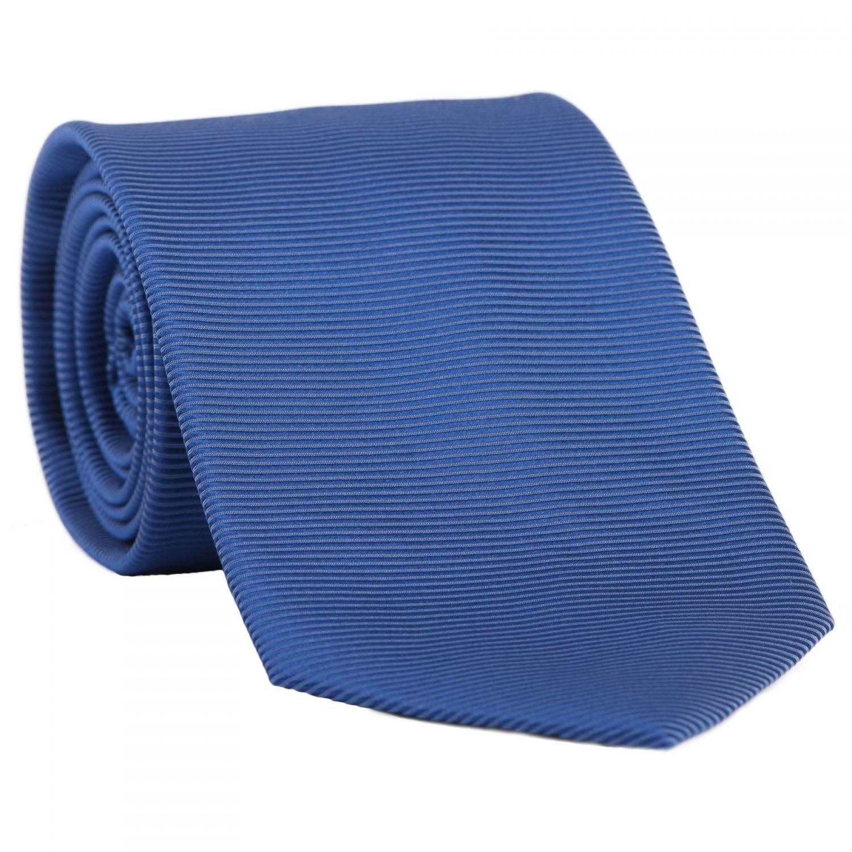 L. Biagiotti silk tie Best Classic blue