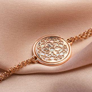 About Me silver bracelet