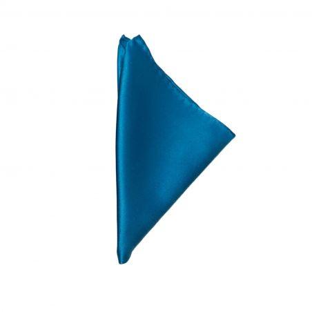 Blue Silk Pocket