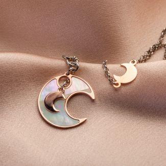 Lucky Moons silver bracelet