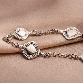 Urban Journey silver bracelet