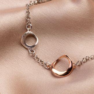 Urban Mood silver bracelet