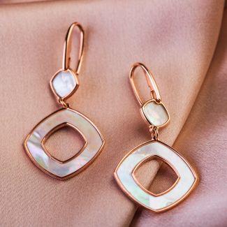 Prestige silver earrings