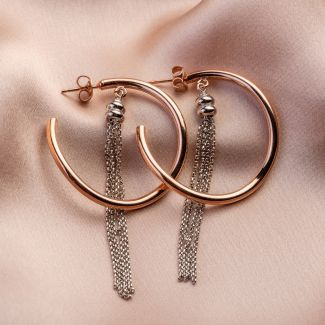 Easy Way silver earrings