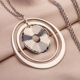 Silver necklace Urban Energy