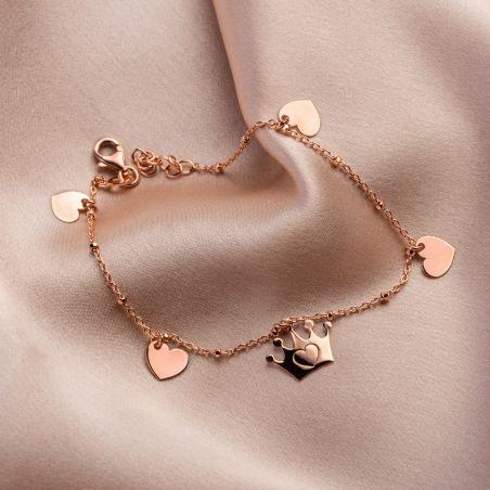 My Lovely Princess silver bracelet