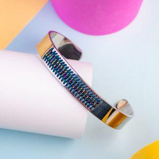 Miyuki Navy Stainless steel bracelet