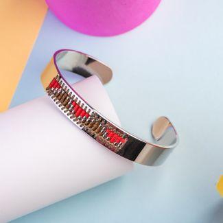 Miyuki Mix Stainless steel bracelet