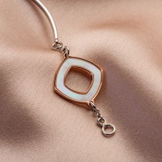 Prestige silver bracelet