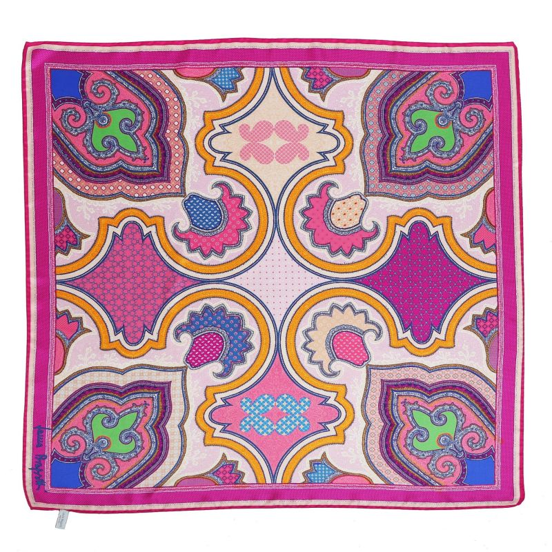 Imperial dream fucsia Silk scarf